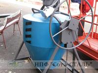 Бетономешалка 350 литров БСБ-350 гравитационного типа бетоносмеситель