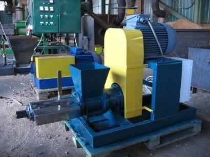 Фотографии пресса-экструдера модели ПБ-200М с дополнительным прессующим устройством