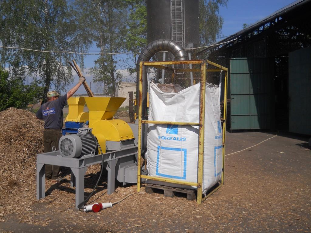 Фотографии дробилки молотковой с транспортным вентилятором