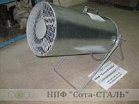 Электрическая тепловая пушка ЛУЧ теплогенератор