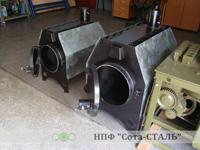 Газогенераторная печь-калорифер серии Цезарь