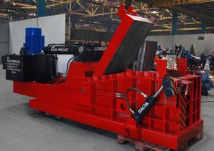 Пакетировочный пресс для прессования металлолома 250 тонн