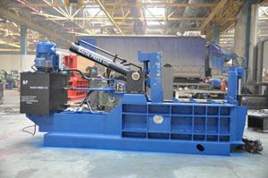 Пакетировочный пресс для прессования металлолома 100 тонн