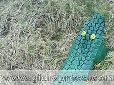Крокодил из старой автомобильной шины