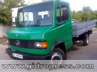 Реставрация Mercedes 508